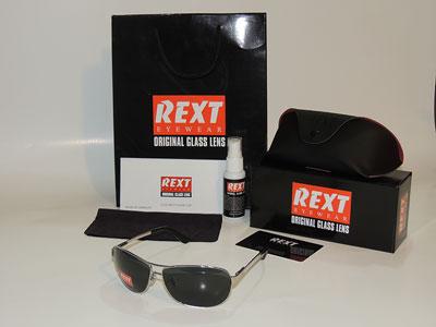سایت فروش انواع عینک های آفتابی اصل رکست شیشه سنگ