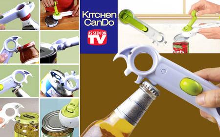 در قوطی بازکن 8 کاره آشپزخانه
