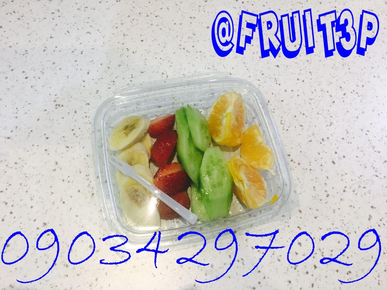 بسته بندی میوه خرد شده تکنفره آماده جهت پذیرایی (پارادایس)