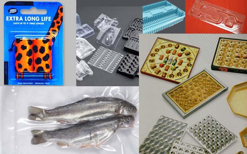 بسته بندی انواع قطعات بصورت وکیوم و شیرینگ