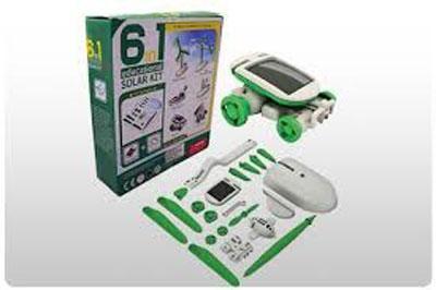 اسباب بازی 6 کاره خورشیدی اورجینال بدون نیاز به باتری و برق(فروشگاه جهان خرید)