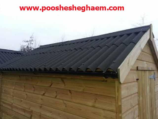 ورق پوشش سقف شیب دار آندولین