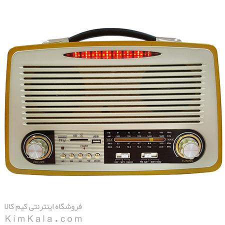 رادیو اسپیکری فوق پیشرفته با طراحی کلاسیک و چوبی/فروشگاه کیم کالا