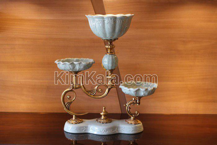 شیک ترین آجیل خوری سه تیکه ای هارپات/بهترین و شیک ترین وسیله دکوری برای عید