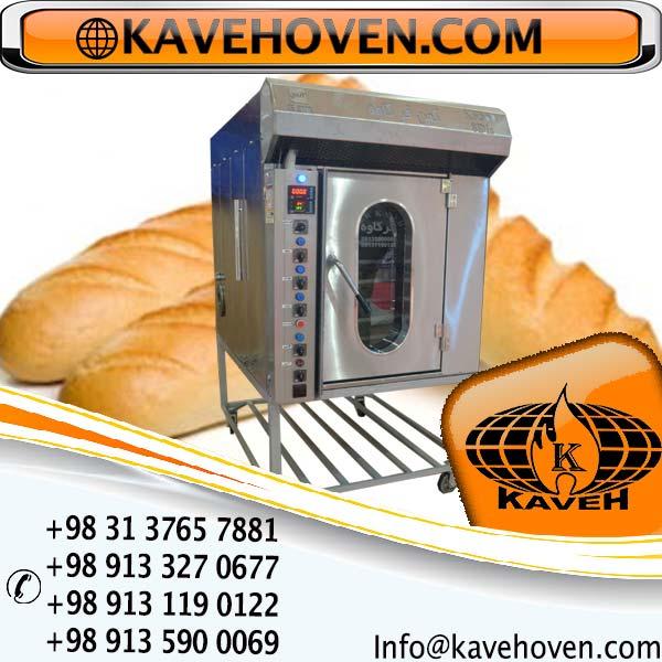 فر پخت نان حجیم و انواع نان ساندویچ