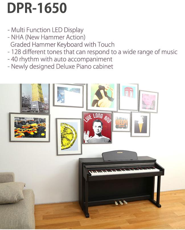 فروش نقد و اقساط پیانوهای دایناتون  DPR-1650