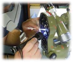تعمیرات و کالیبراسیون دوربینهای نقشه برداری و جی پ