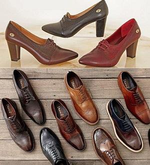 تک فروش کفش های چرم طبیعی مردانه و زنانه با قیمت ارزان