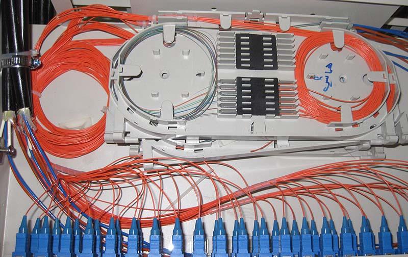 تجهیزات شبکه وفیبرنوری