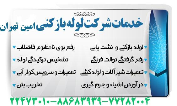تخليه چاه غرب تهران