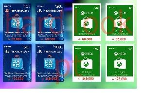 فروش تخصصی انواع گیفت کارت XBOX و PlayStation با کمترین قیمت▼معتبر و مستقیم از آمازون