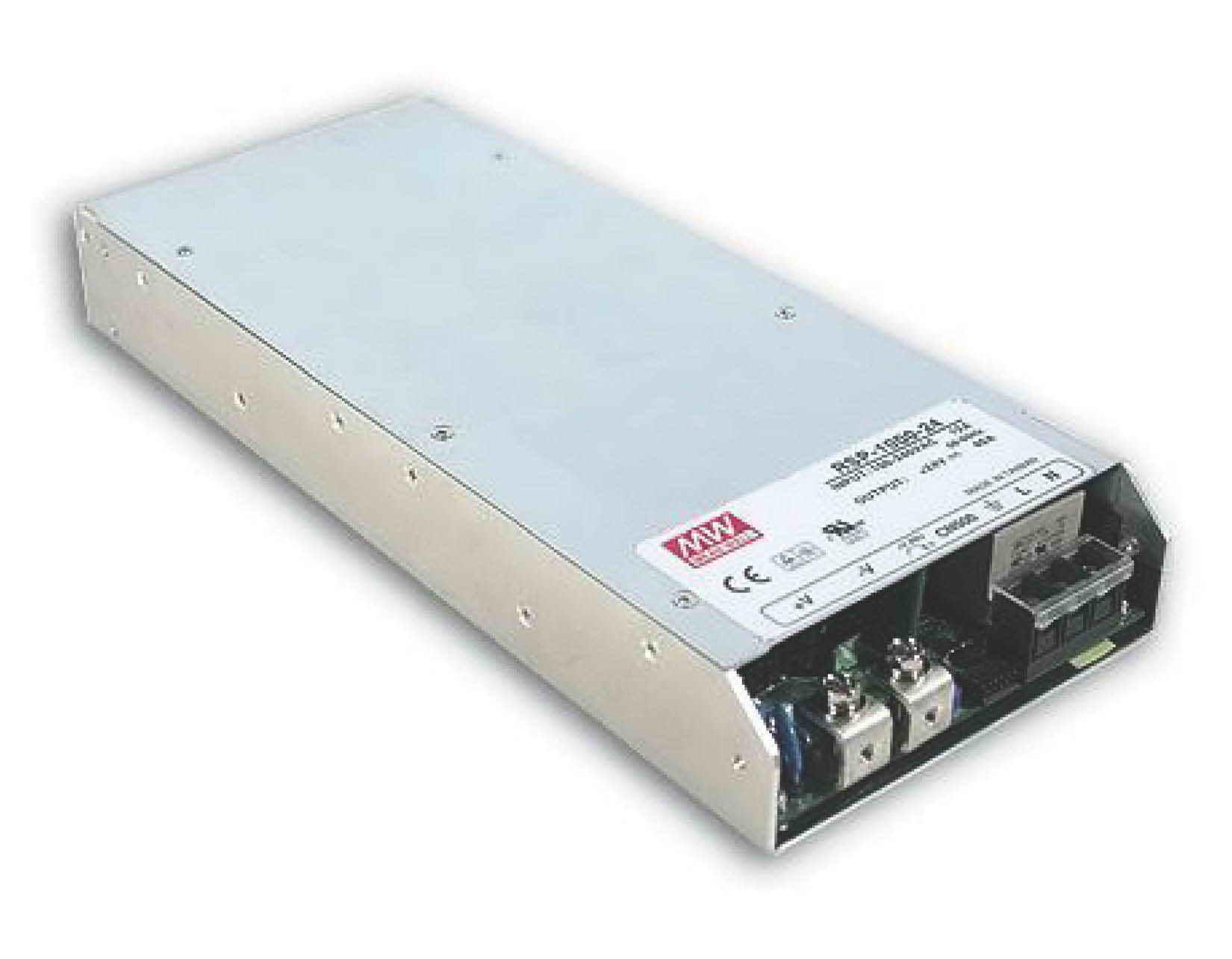 RSP-1000, منبع تغذیه کف خواب  مینول 1000 وات, RSP-1000-12, RSP-1000-24, RSP-1000-48, Mean Well , MW