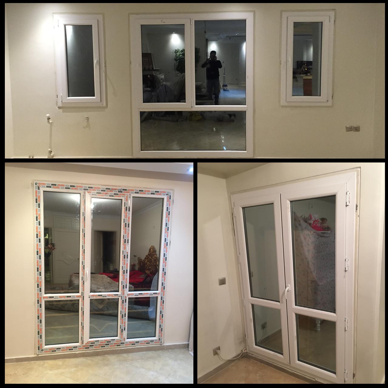 تولید،تعویض و تعمیر پنجره های دو جداره upvc