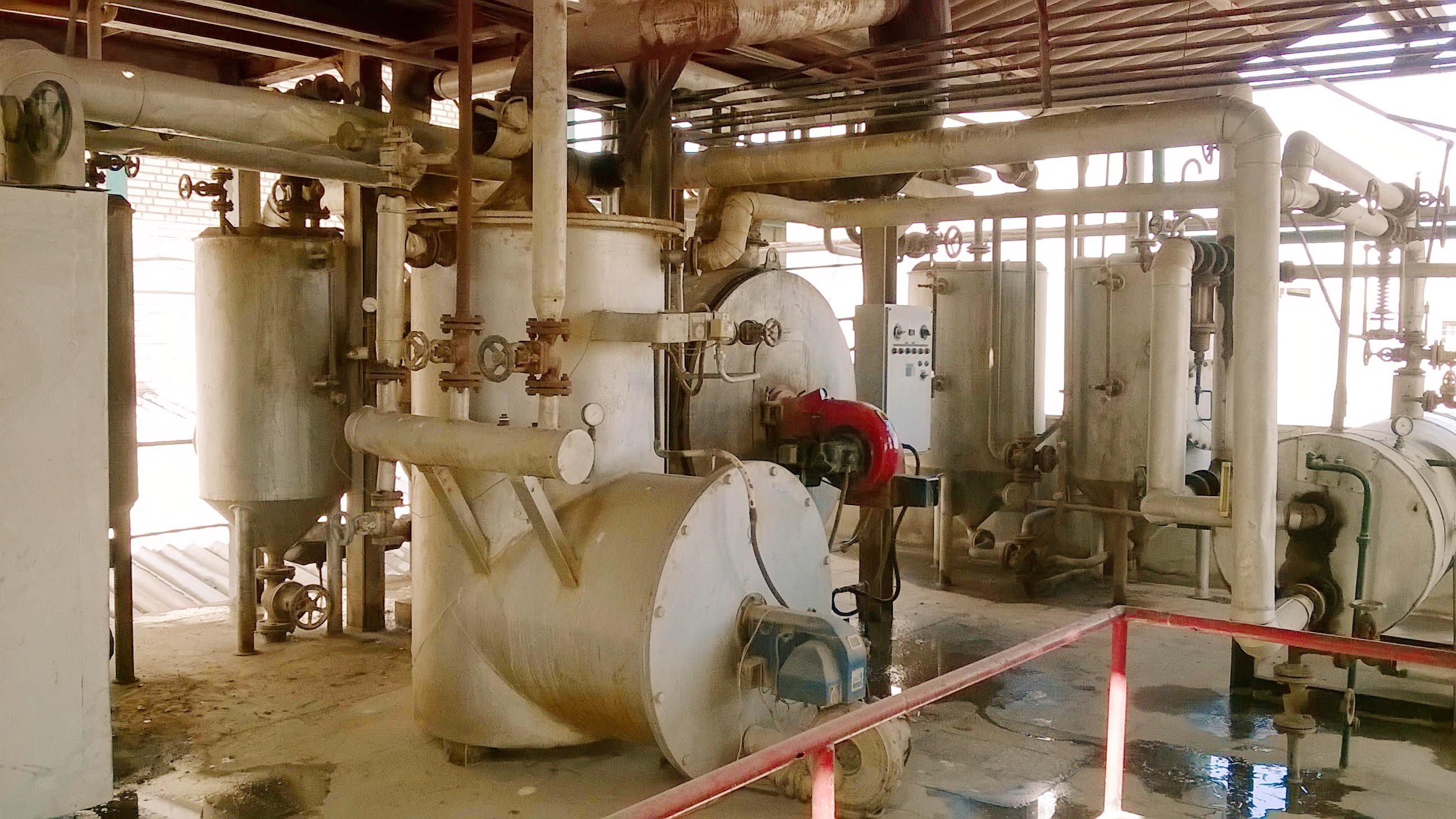 فروش کارخانه تولید ، تصفیه و بسته بندی روغن موتور در تهران