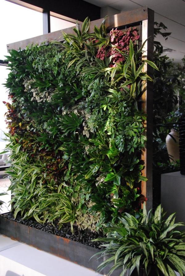 ترنج سبز طراحی و اجرا دیوار سبز مشهد