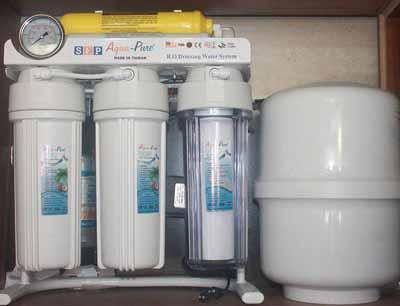 فروش دستگاه تصفیه آب خانگی، فیلتر تصفیه آب خانگی