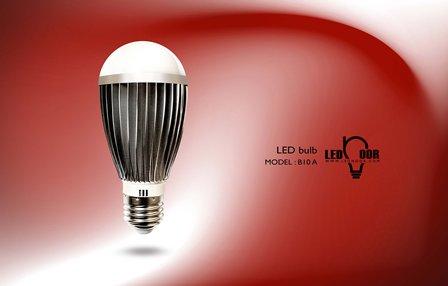 فروش لامپ حبابی کم مصرف سی او بی 10 وات ال ای دی نور
