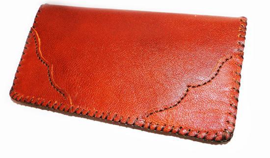 کیف پول چرم دست دوز مردانه (فروشگاه جهان خرید)