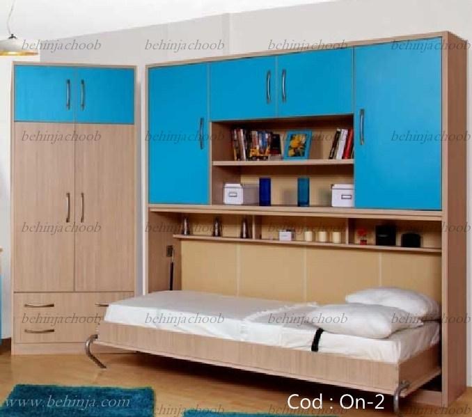 قیمت تختخواب تاشو|قیمت تخت دیواری تاشو|بهین جا|09126183871