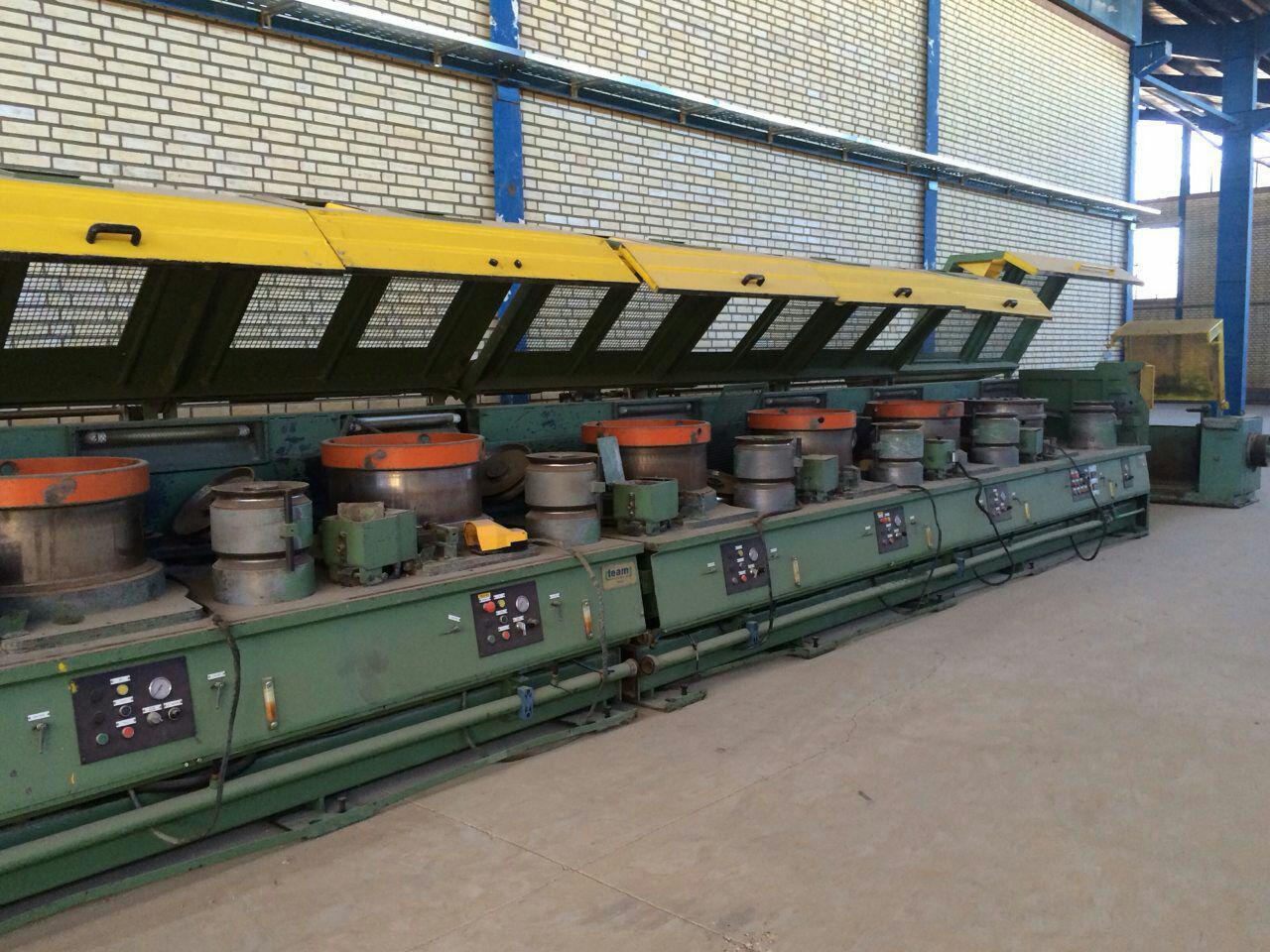 فروش کارخانه تولید مفتول فولادی (کشش سرد)