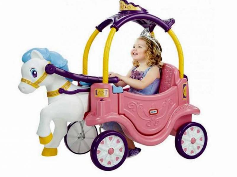 واکر و ماشین پایی دو کاره پرنسس کودک Little Tikes
