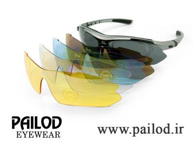 انواع عینک های اسپرت پایلود با لنزهای مختلف