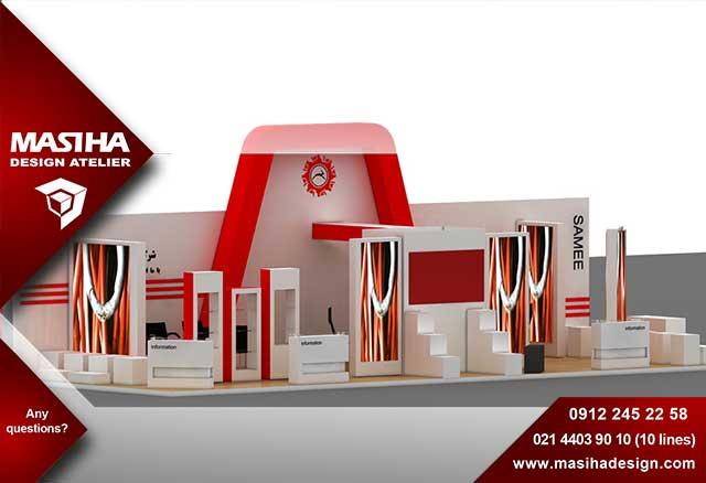 ساخت غرفه نمایشگاه مطابق با آخرین استانداردهای جهانی
