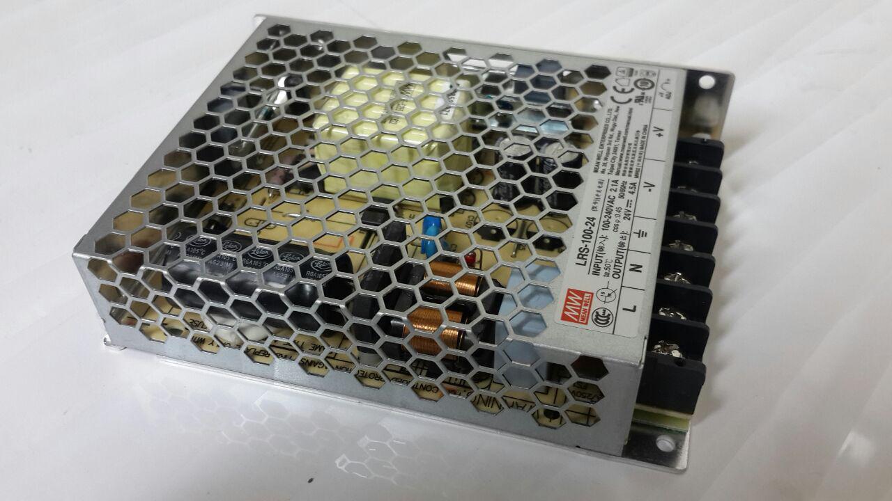 LRS-100, منبع تغذیه کف خواب مین ول 100 وات, منبع تغذیه 100 وات, Mean Well, MW, منویل
