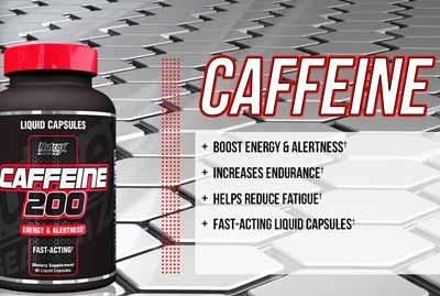 کپسول کافئین ناترکس Nutrex Caffeine 200 افزایش چربی سوزی