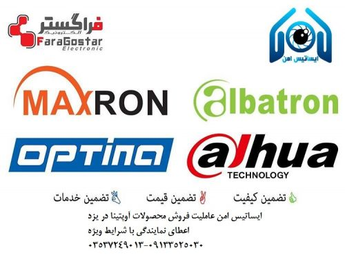 توزیع دوربین های امنیتی